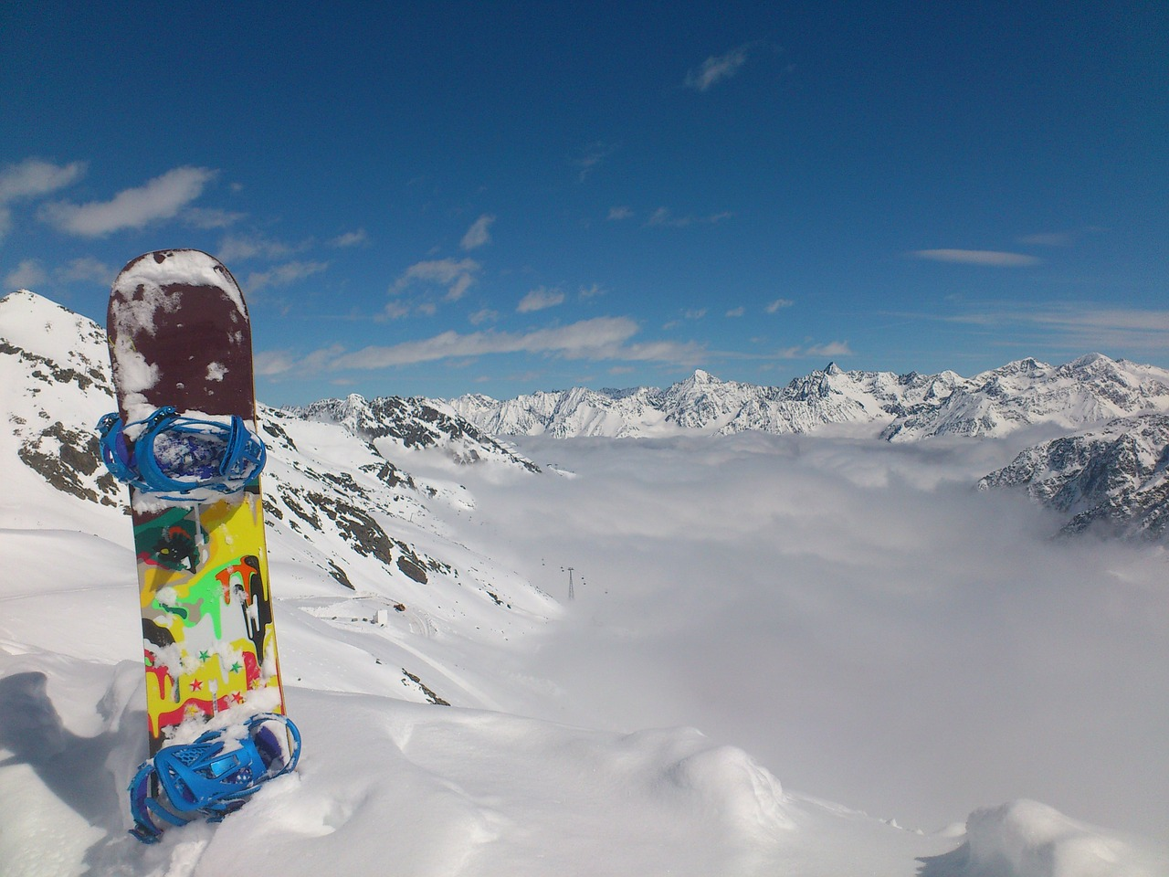 L'équipement pour idéal pour faire du snowboard